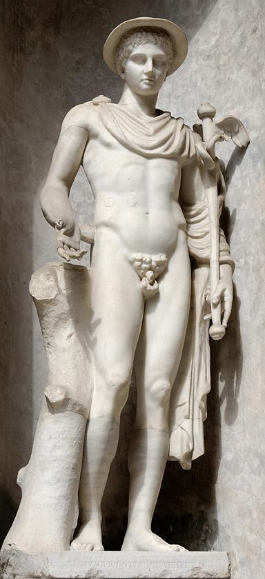 sculptura penisului antic