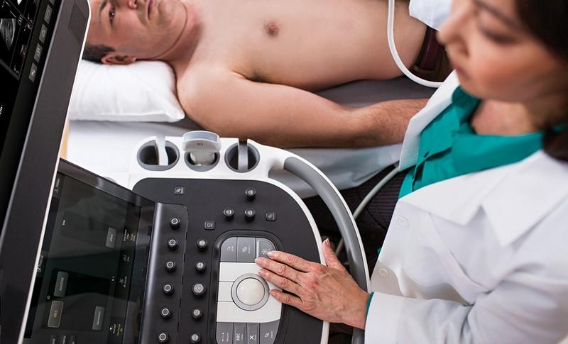 ultrasunete în timpul unei erecții