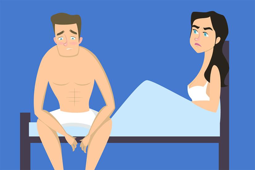 erecția a dispărut în timpul actului sexual exercițiu de stimulare a erecției