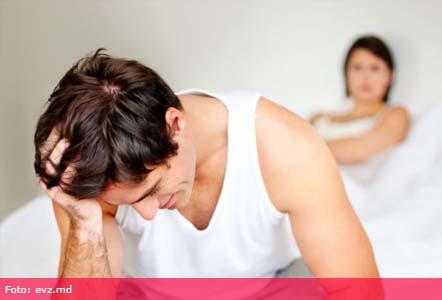 lipsa erecției în picioare cu o erecție, membrul devine amorțit