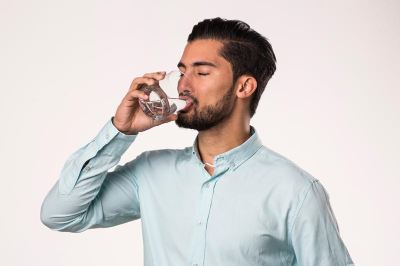 erecție cu apă rece
