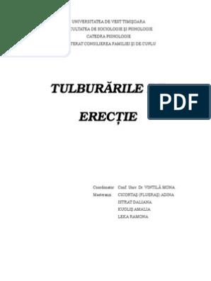 Disfunctie erectila (DE) | Tratament probleme erectie