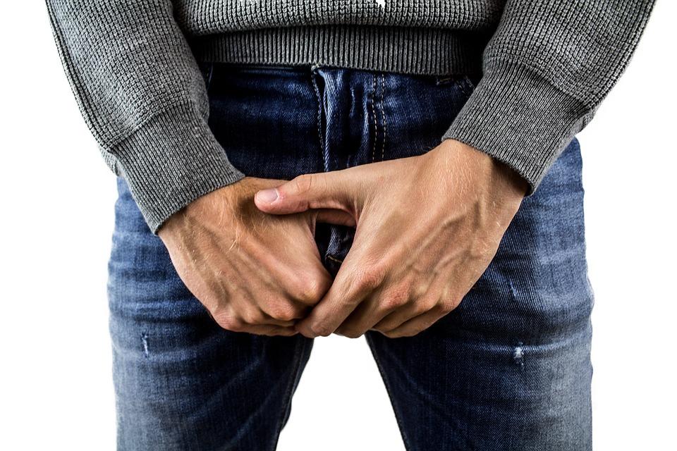 când este erect  penisul este orizontal)