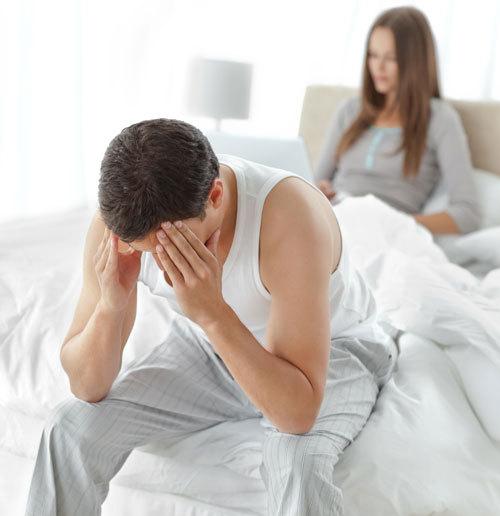 din ceea ce o persoană pierde erecția