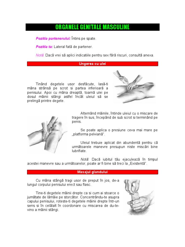 masaj al penisului și scrotului erecție cu boală de prostată